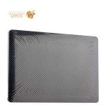 Чехол для Apple MacBook Retina 12 BTA-Workshop Wrap Shell-Twill карбоновый, цвет черный