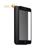 Защитное стекло для iPhone 7 / 8 (5D) Black, цвет черный