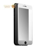 Защитное стекло для iPhone 7 / 8 (5D) White, цвет белый