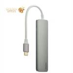 Переходник USB Type-C - HDMI Deppa D-73118 Power Delivery, цвет графитовый