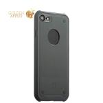 Силиконовый чехол-накладка для iPhone 7 Baseus Shield Case (ARAPIPH7-TS0G), цвет серый