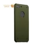 Силиконовый чехол накладка для iPhone 8 Plus Baseus ARAPIPH7P-TS06 Shield Case, цвет зеленый