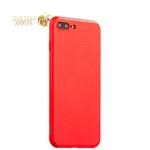Пластиковый чехол-накладка для iPhone 8 Plus Baseus Plaid Case (WIAPIPH7P-GP09), цвет красный