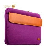 Сумка для MacBook Air 11 XOOMZ Fabric Portable Laptop Sleeve Case with Handle, цвет фиолетовый