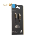 USB дата-кабель Deppa Jeans D-72277 2.4А USB - USB Type-C 1.2м медь/ Джинсовая оплетка