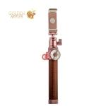 Монопод для селфи bluetooth COTEetCI Aluminum Self-Stick CS5107-MRG (1.0 м) алюминиевый, Розовое золото