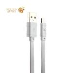USB дата-кабель Hoco X5 Bamboo MicroUSB (1.0 м) Белый