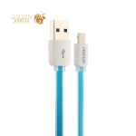 Lightning кабель USB Aspor А108-2.1А High Speed & Data cable (1.0 м), цвет голубой
