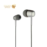 Наушники Hoco M10 Metal Universal Earphones with mic (1.2 м) с микрофоном Graphite Графитовые