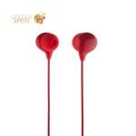 Наушники Hoco M13 Candy Universal Earphones with mic (1.2 м) с микрофоном Red Красные