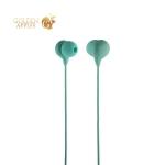 Вакуумные наушники вкладыши с микрофоном Hoco M13 Candy Universal Earphones with mic (1.2 м) Blue, цвет синий