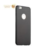 Силиконовый чехол-накладка для iPhone 6S Plus / 6 Plus Hoco Juice Series, цвет черный