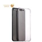 Силиконовый чехол-накладка для iPhone 7 Plus Hoco Light Series, цвет дымчатый