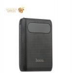 Внешний аккумулятор Hoco B20 Mige Power Bank (2USB: 5V-2.1A) -10000 mAh Black, цвет черный