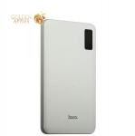 Аккумулятор внешний универсальный Hoco B24-30000 mAh Pawker Power bank (3 USB: 5V-2.0A&2.0A&1.0A) White Белый