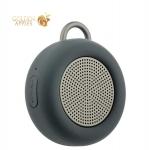 Портативная Bluetooth колонка Deppa D-42001 Speaker Active Solo (1x5W)-V4.1 + EDR AUX IPX5, цвет серый