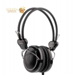 Наушники Hoco W5 Manno headphone (1.2 м) Black Черные