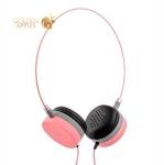 Накладные наушники Hoco W3 headset Pink, цвет розовый