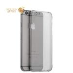 Силиконовый чехол накладка для iPhone 6S / 6 Hoco Light Series, цвет дымчатый