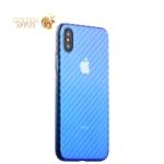 Пластиковый чехол-накладка для iPhone XS J-Case Colorful Fashion Series (0.5 мм), цвет светло-голубой