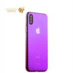 Пластиковый чехол-накладка для iPhone XS J-Case Colorful Fashion Series (0.5 мм), цвет розовый
