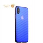 Пластиковый чехол-накладка для iPhone XS J-Case Colorful Fashion Series (0.5 мм), цвет голубой