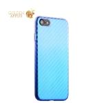 Чехол-накладка пластиковый J-case Colorful Fashion Series 0.5mm для iPhone SE (2020г.) Голубой оттенок