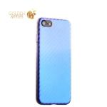 Пластиковый чехол-накладка для iPhone 8 J-Case Colorful Fashion Series (0.5 мм), цвет голубой