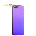 Пластиковый чехол-накладка для iPhone 8 Plus J-Case Colorful Fashion Series (0.5 мм), цвет голубой