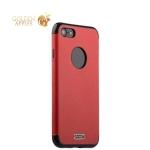Силиконовый чехол-накладка для iPhone 8 J-Case Jack Series (с магнитом), цвет красный