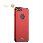 Силиконовый чехол-накладка для iPhone 8 Plus J-Case Jack Series (с магнитом), цвет красный