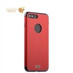 Силиконовый чехол-накладка для iPhone 7 Plus J-Case Jack Series (с магнитом), цвет красный