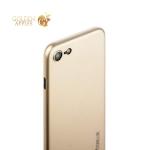 Чехол-накладка супертонкая Coblue Slim Series PP Case & Glass (2в1) для iPhone SE (2020г.) Золотистый