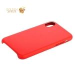 Кожаный чехол-накладка для iPhone X COTEetCI Elegant PU Leather Case (CS8011-RD), цвет красный