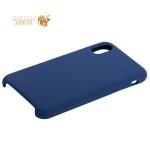 Силиконовый чехол-накладка для iPhone X COTEetCI Liquid Silicone Case (CS8012-BL), цвет синий