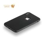 Силиконовый чехол-накладка для iPhone XS Hoco Fascination Seriesб Цвет черный