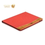 Чехол тканевый XOOMZ для iPad Pro (10.5) Simple Fabric Material Made Folio Cover Erudition Series (XID712red) Красный