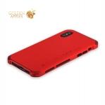 Алюминиевый чехол-накладка для iPhone X Element Case Solace, цвет красный