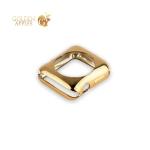 Силиконовый чехол для Apple Watch Series 2 / 3 (38 mm) COTEetCI TPU case (CS7040-CE), цвет золотистый