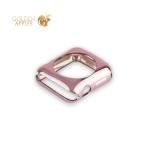 Силиконовый чехол для Apple Watch Series 2 / 3 (38 mm) COTEetCI TPU case (CS7040-MRG), цвет розовое золото