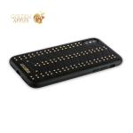 Кожаный чехол-накладка для iPhone XS Santa Barbara Polo & Racquet Club Armor Series, цвет черный