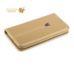 Пластиковый чехол-накладка для iPhone 7 KINGXBAR со стразами Swarovski 49F, цвет розовое золото Бамбук