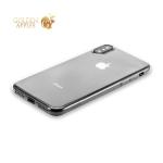 Силиконовый чехол-накладка для iPhone XS Hoco Light Series, цвет дымчатый