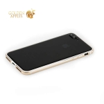 Алюминиевый бампер для iPhone 8 Plus G-Case Grand Series, цвет золотистый