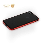 Алюминиевый бампер для iPhone 7 Plus G-Case Grand Series, цвет красный