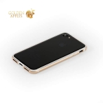 Бампер металлический G-Case Grand Series для Apple iPhone 8 (4.7) Золотистый