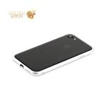 Пластиковый бампер для iPhone 7 Totu Evoque Series, цвет серебристый