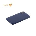 Супертонкий силиконовый чехол накладка для iPhone X COTEetCI Grind arenaceous TPU Case (CS8007-BL), цвет синий