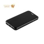 Кожаный чехол-книжка для iPhone 8 Fashion Case Slim-Fit Black, цвет черный