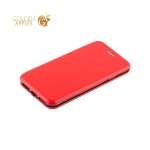 Кожаный чехол-книжка для iPhone 8 Fashion Case Slim-Fit Red, цвет красный